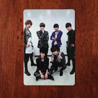 EXO K MAMA OT6 OFFICIAL PHOTOCARD