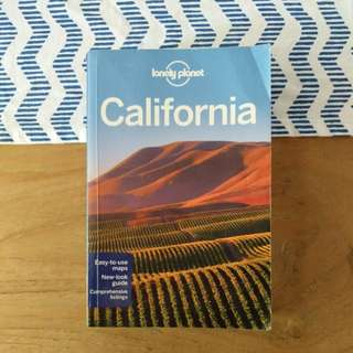 Lonely Planet California Guidebook