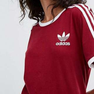Authentic Adidas 3 stripe Tee