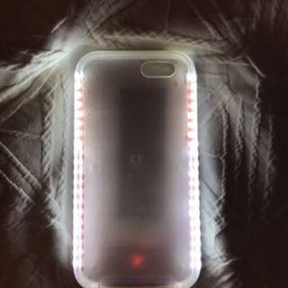 iPhone 6 selfie light case