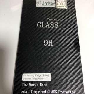 🍀全新康寧Samsung S7 edge 全屏 玻璃貼(金色),特強H9 硬度,有效保護你的手機🍀