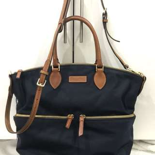 Dooney & Bourke Large Satchel - Navy