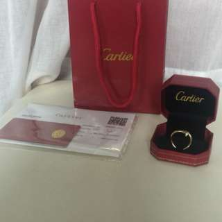 Cartier Just En Clou Ring Rose Gold