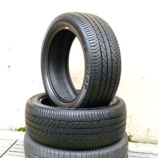 Used 225/50 R18 Dunlop (2pcs) 🙋♂️