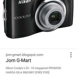 Nikon cool pix L26