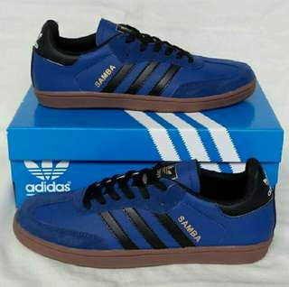 Adidas Samba Blue Dark Black