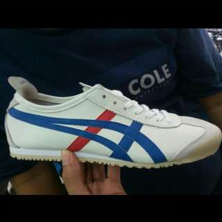 Onitsuka whait blue red orginal