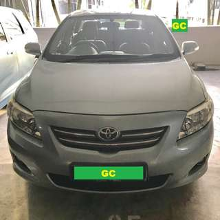 Toyota Altis RENTING CHEAPEST RENT AVALABLE FOR Grab/Uber USE