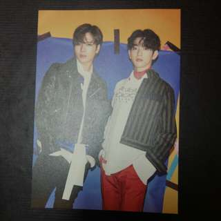 GOT7 Flight Log Arrival Event Card Jinson
