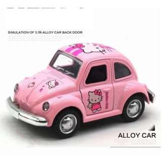 🆕 Cute Pink Hello Kitty Car Toy - Collection / Display