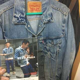 🚚 Levis 淺色牛仔外套 余文樂代言 s號 因為穿不下所以出售(降價重PO)🔥🔥🔥