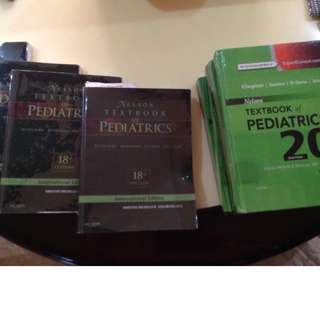 Selling Nelson Textbook of pediatrics 18th ed