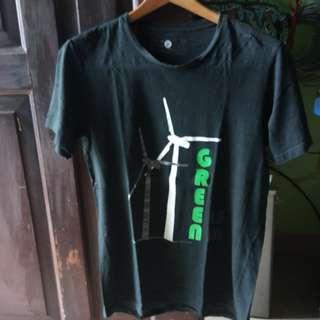 WWF Green energy black Shirt