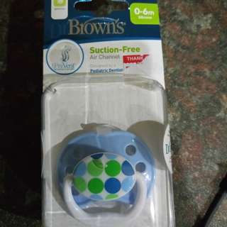 dr brown orthodontic pacifier / buting