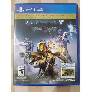 DESTINY (game PS4 region 3)