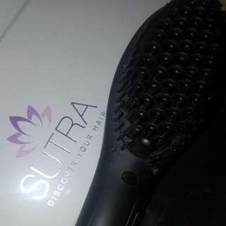 Sutra Ionic Heat Brush Hair Straightener