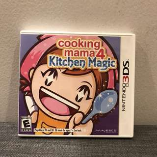 Nintendo DS - Cooking Mama 4(Kitchen Magic)  Game