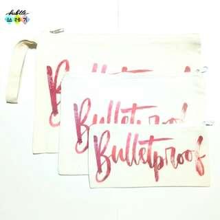 BTS Bulletproof Pouches (Pink)