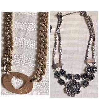 8 pcs. necklace