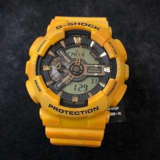 Casio G-Shock GA-110CM-9A GA-110CM GA110 ga-110cm-9a 黃色 迷彩