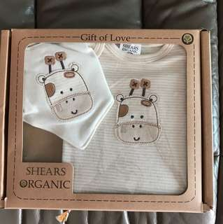 Shears Organic Baby Gift Set Baby Clothes