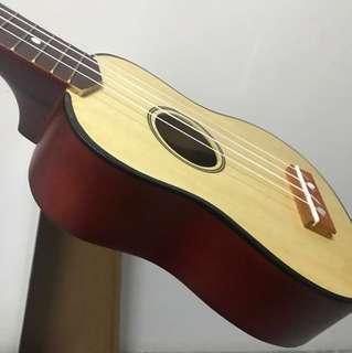 木色ukulele 全新有盒有膠袋