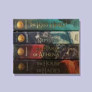 Heroes of Olympus Series (YA) by Rick Riordan