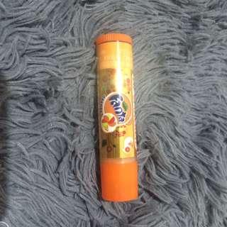 Fanta orange lip smacker