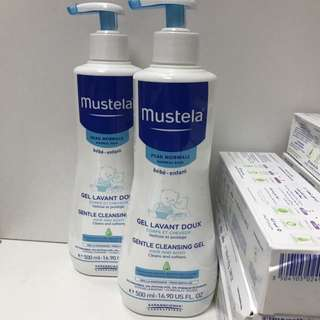 Mustela cleansing gel 500 ml