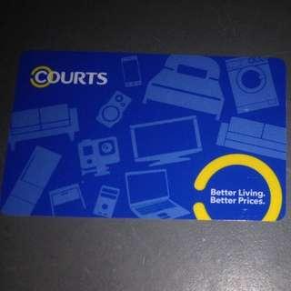 Courts Prepaid Card