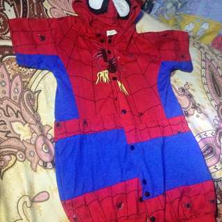 Spiderman Costume with Shoes