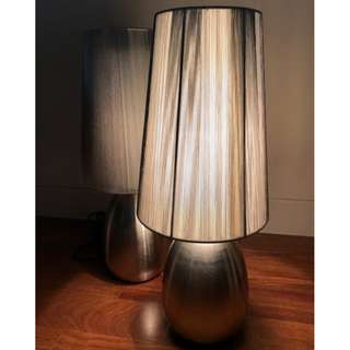 Dimmable Touch Control Table Lamps x 2