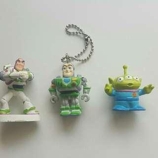 Disney Toy Story 巴斯光年、三眼仔 Figure