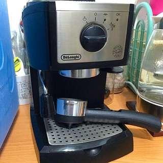 DeLonghi迪朗奇義式咖啡機EC155 送磨豆機