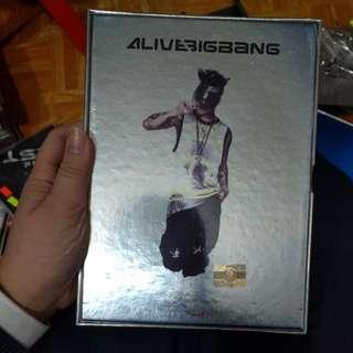 Alive Bigbang CD(Tae Yang ver.)(鐵盒因生鏽已丢)