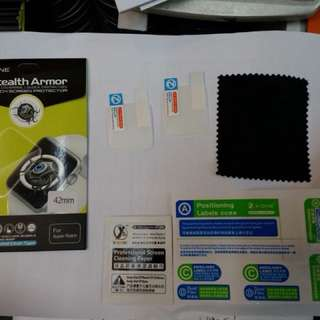 X one stealth Armor (extras) iwatch 38mm 42mm screen protector