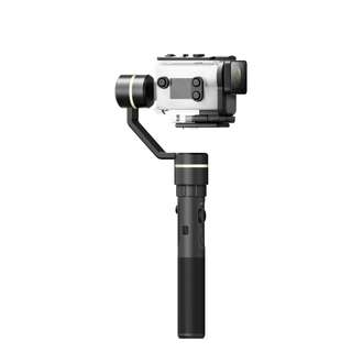 Feiyu G5GS 3-Axis Splash Proof Electronic Handheld Gimbal Stabilizer for Sony AS50 / AS300 / X1000V / X3000 or similar size action camera *Free Mini Tripod*
