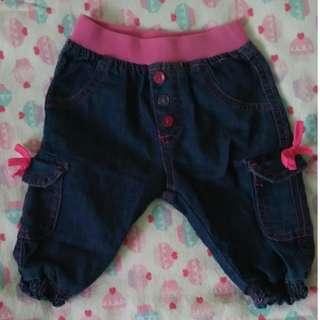 Baby Jeans Girl / Seluar Jeans Budak Perempuan