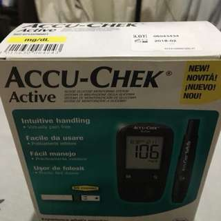 Accu Check Active Blood Glucose Monitoring