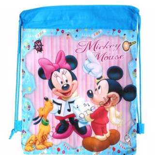 ♥Brand New Mickey and Minnie Drawstring Party Bags★