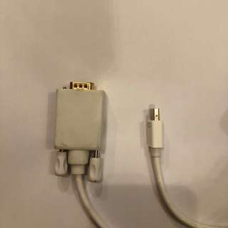 VGA to DisplayPort Cable 2 meters