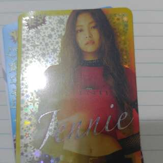 Blackpink Jennie yes card