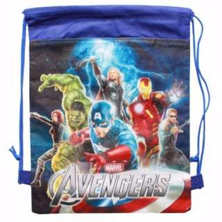 ♥Brand New Avengers Drawstring Party Bags★