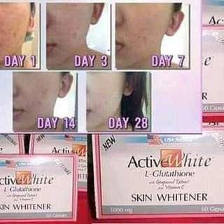 ActiveWhite L-Glutathione Capsules