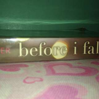 Book for sale! BEFORE I FALL Author: Lauren Oliver