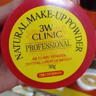 3W CLINIC NATURAL MAKEUP POWDER