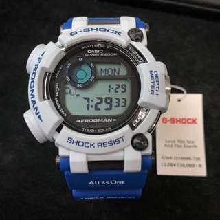 Casio G-Shock Love The Sea And The Earth GWF-D1000K-7 GWFD1000 Frogman 海洋 蛙人