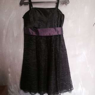 REPRICED: Black Cocktail Dress