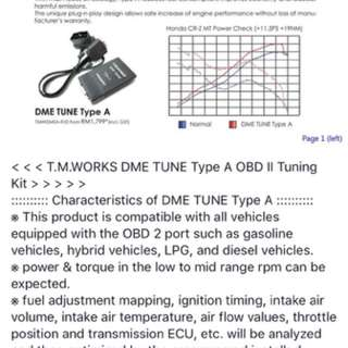 Tm works obd tune