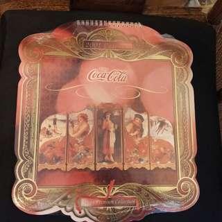 懷舊可口可樂月曆